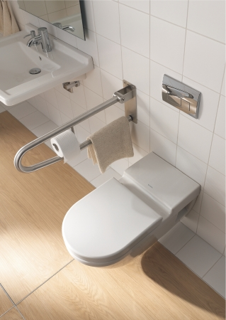 duravit bathroom design series starck 3 washbasins. Black Bedroom Furniture Sets. Home Design Ideas