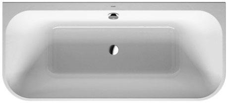 duravit happy d 2 bath whirltubs bathtub 700318 by duravit. Black Bedroom Furniture Sets. Home Design Ideas
