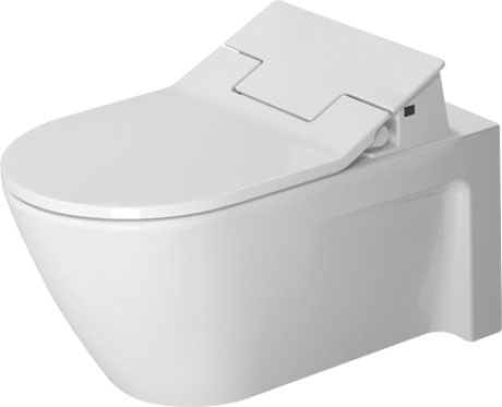 Starck 2 Toilet wall mounted #253359 | Duravit