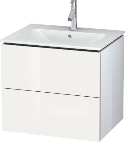 L Cube Vanity Unit Wall Mounted Lc6240 Duravit