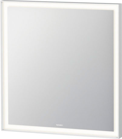 L Cube Mirror With Lighting Lc7380 Duravit
