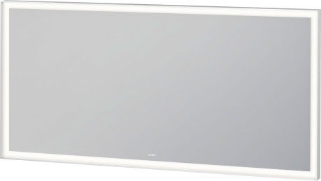 L Cube Mirror With Lighting Lc7384 Duravit