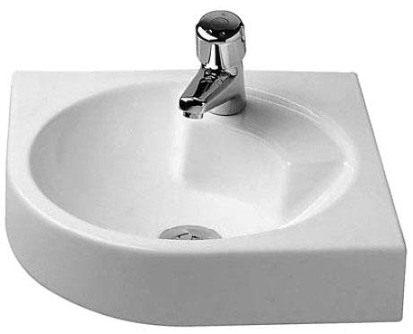 Architec washbasin corner model 044845 duravit for Duravit architec washbasin