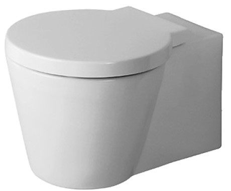 Starck 1 Toilet wall mounted #021009 | Duravit