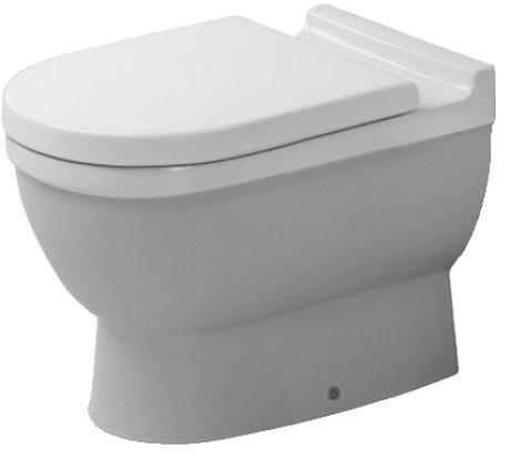 starck 3 toilet floor standing 012409 duravit. Black Bedroom Furniture Sets. Home Design Ideas