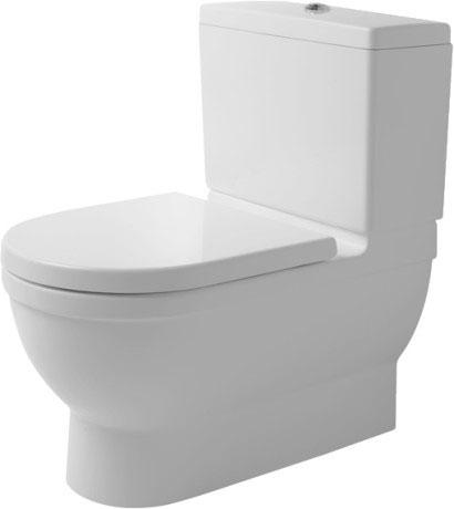 Toilette Duravit starck 3 toilet coupled big toilet 210409 duravit