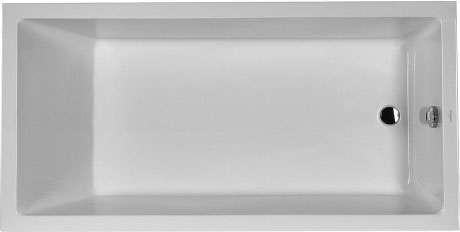 Starck Tubs Showers Bathtub With Support Feet For Standard Installation 700055 Duravit