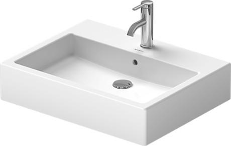 vero semi recessed washbasin 031455 duravit. Black Bedroom Furniture Sets. Home Design Ideas