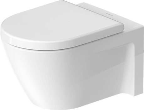 Starck 2 Toilet wall mounted #253409 | Duravit