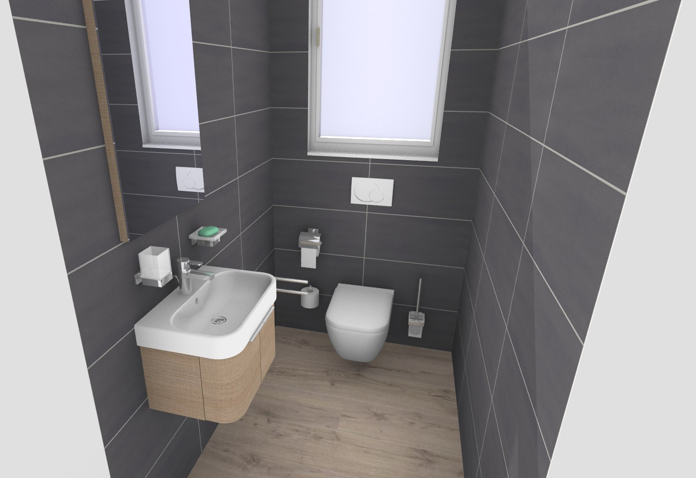 Bathroom planner duravit for Badezimmer ideen 6 qm