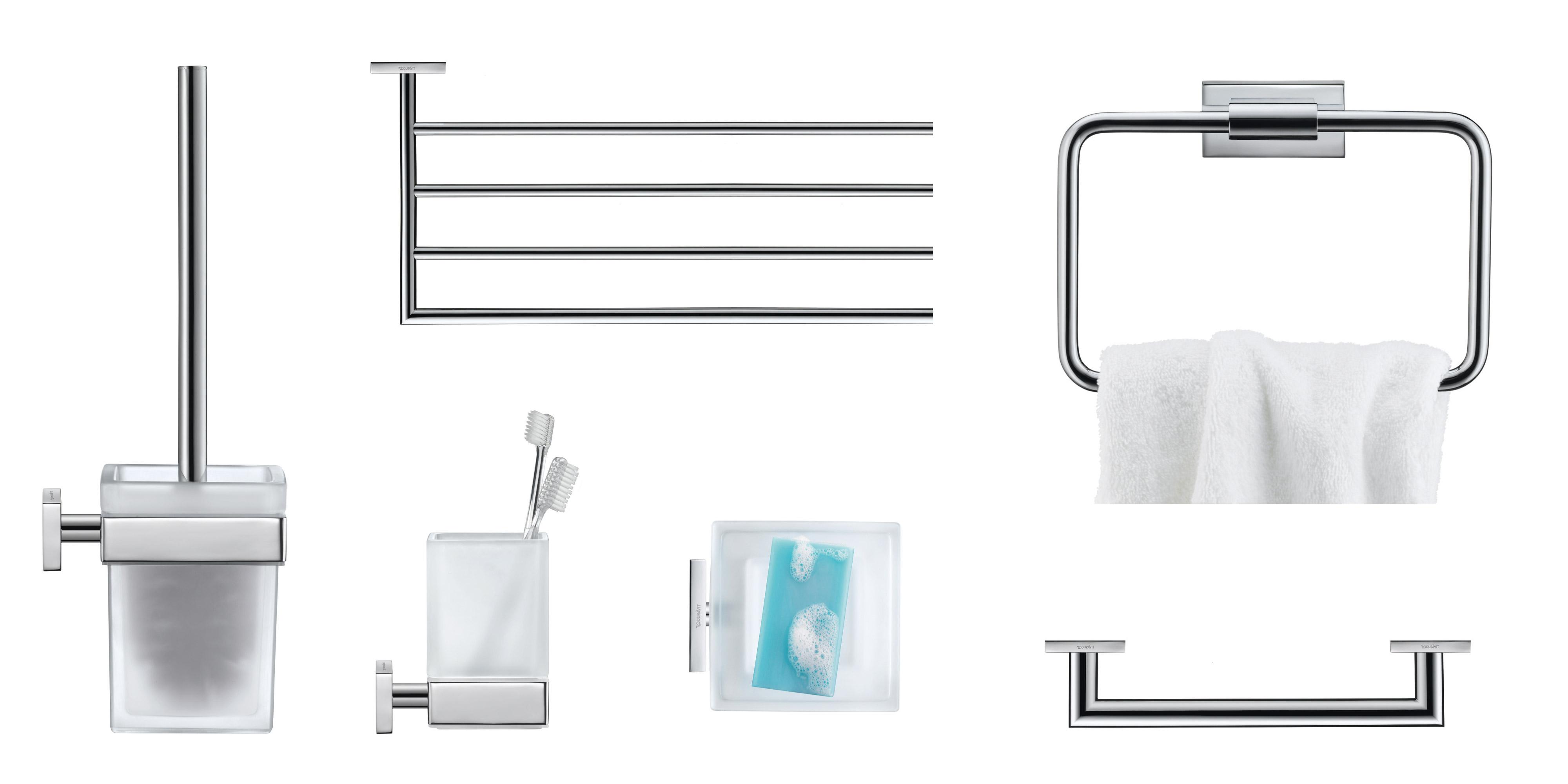 Karree by Duravit: Modern bathroom accessories | Duravit