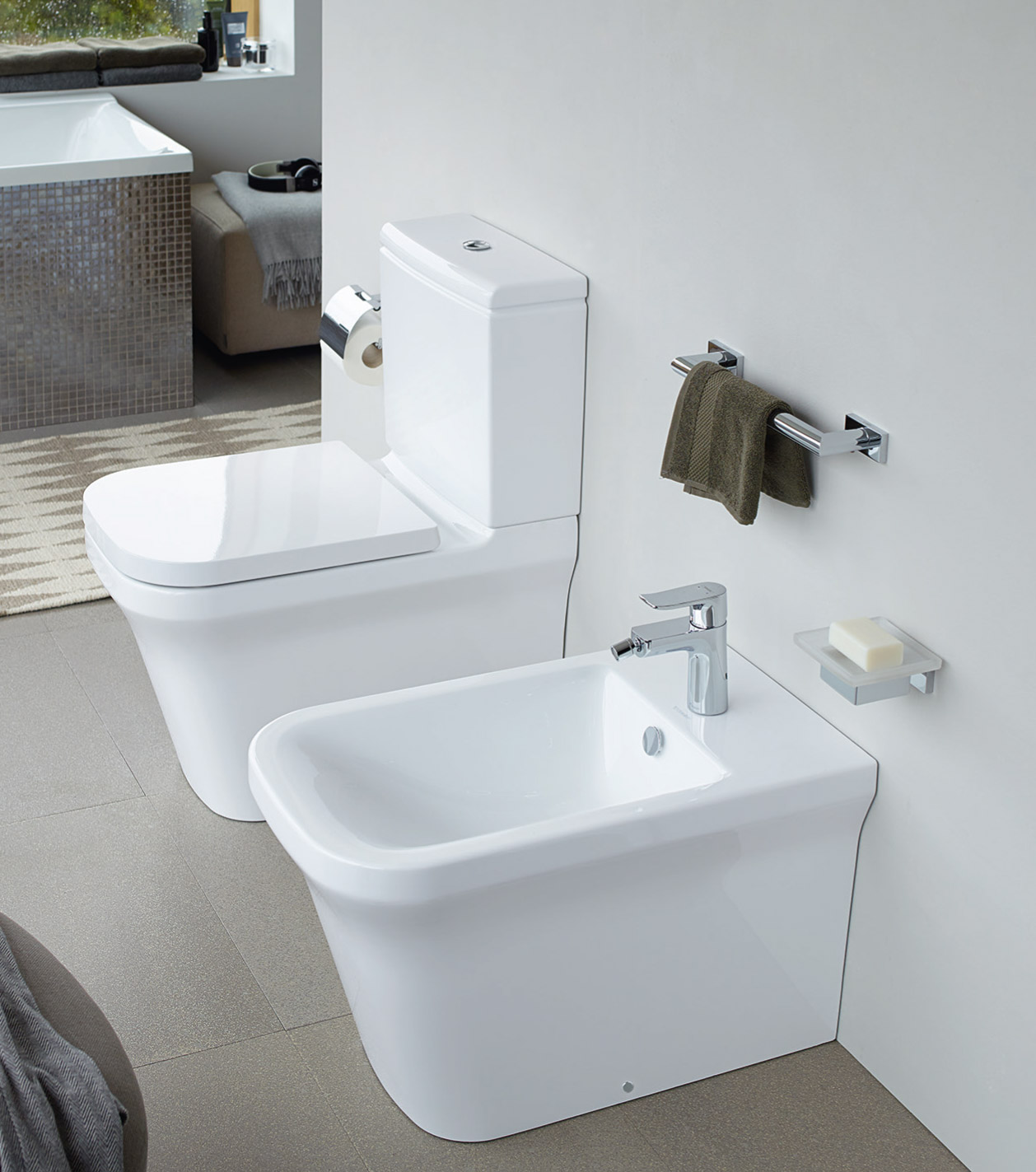 modern toilets wcs for your bathroom duravit. Black Bedroom Furniture Sets. Home Design Ideas