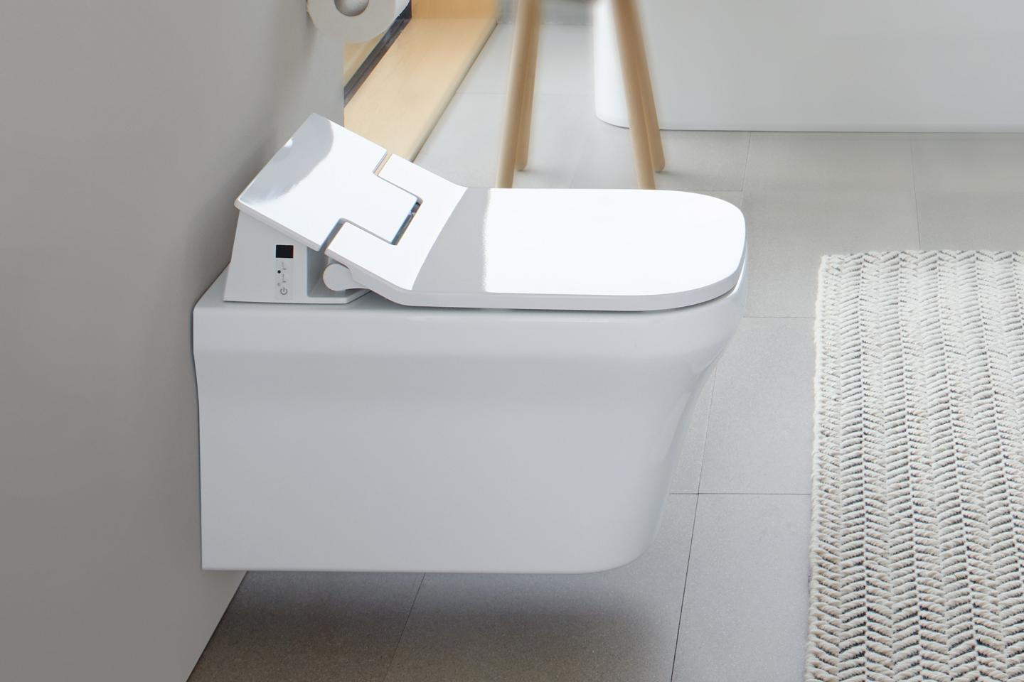 Duravit Sensowash 174 Slim Essential Shower Toilet