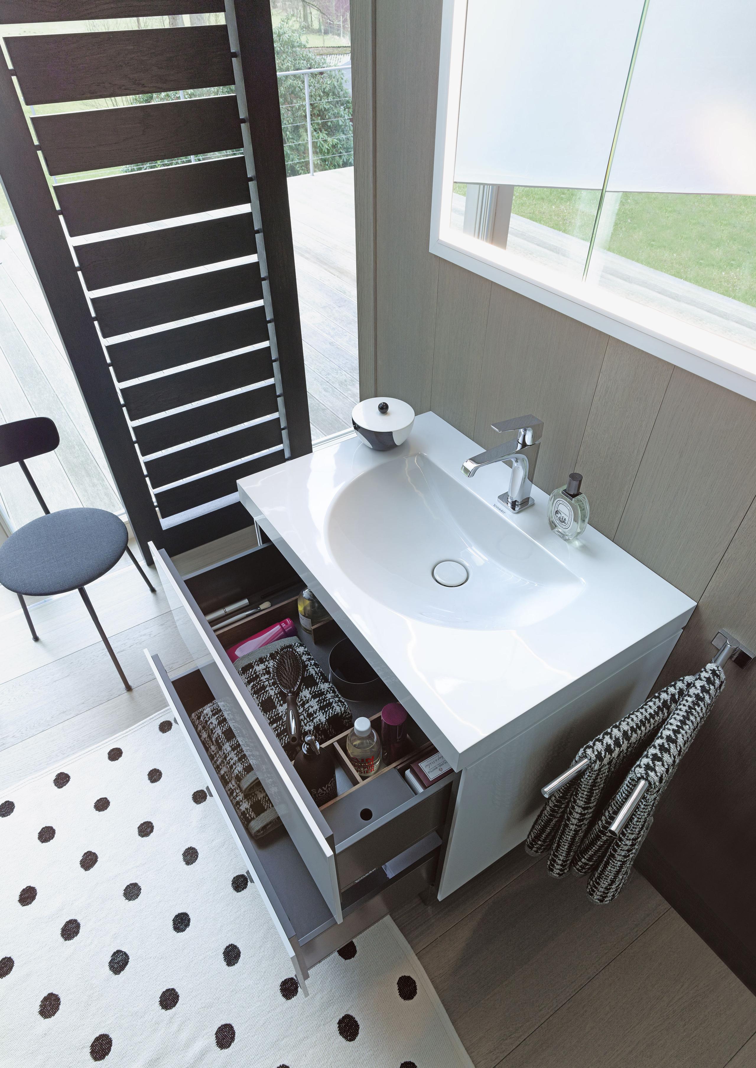 sink mechanism duravit pedestal stopper bathroom vero