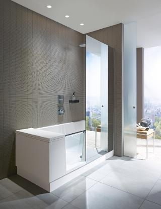 Optionally The Fixed Shower Screen Is Mirrored Which Then A Practical Whole Body Mirror That Can Also Make Small Rooms Appear Larger