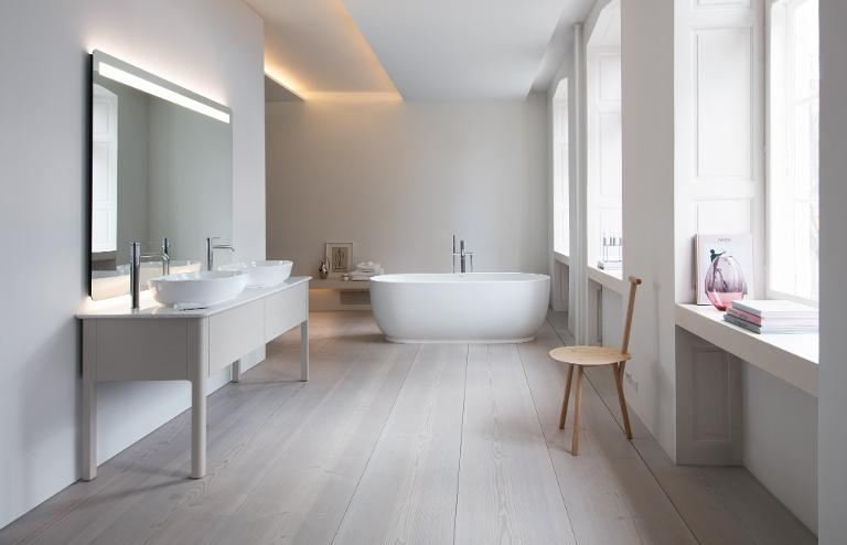 Individually designed washing area | Duravit on decorating styles 1930 s, tile desgins 1930 s, bathroom tile designs from 1930,