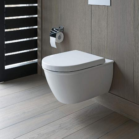 Wall-mounted toilets