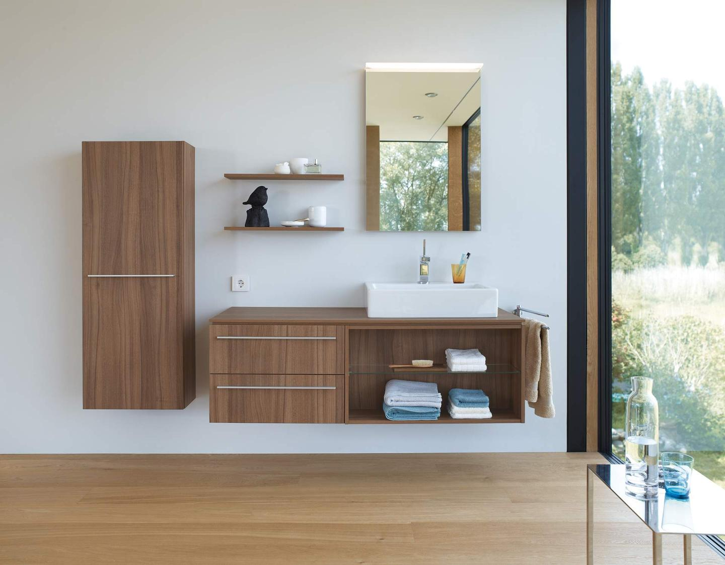 Duravit x large bathroom furniture with extra storage - Duravit bathroom furniture uk ...