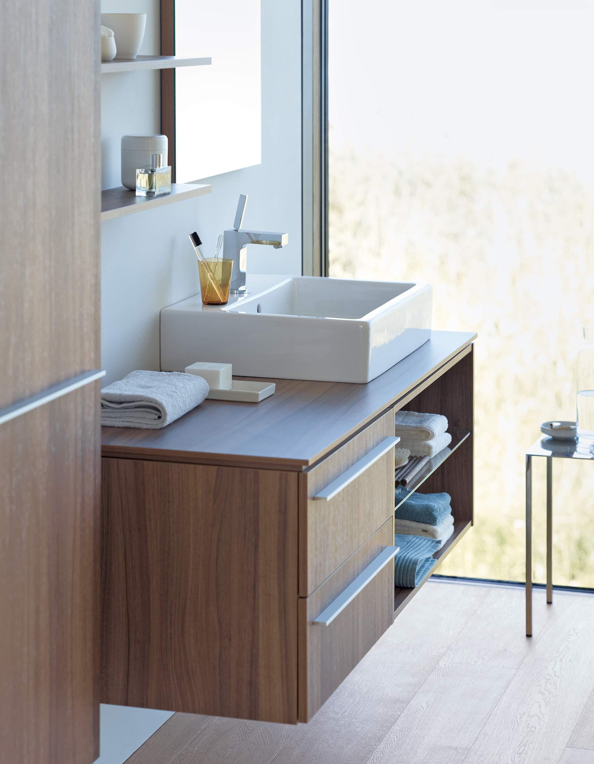 Duravit delos bathroom furniture designed by eoos duravit - Duravit bathroom furniture uk ...