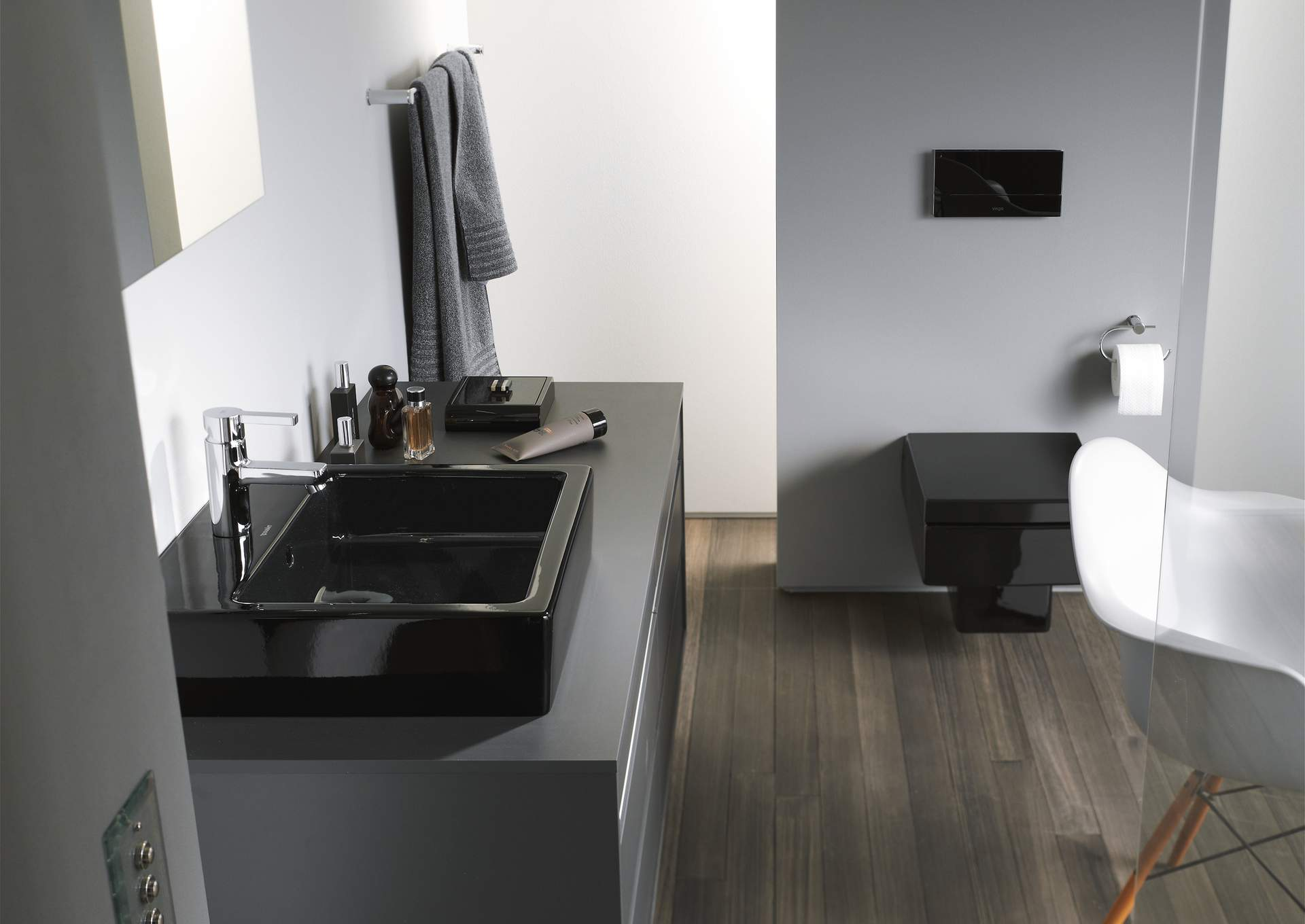 vero washbasin furniture washbasin 045450 duravit. Black Bedroom Furniture Sets. Home Design Ideas
