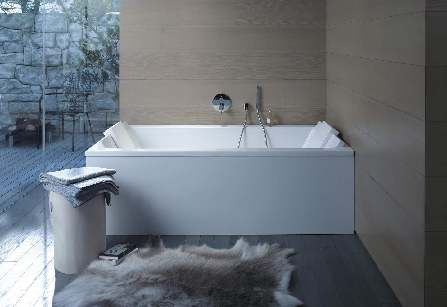 starck bathtubs and showers duravit. Black Bedroom Furniture Sets. Home Design Ideas