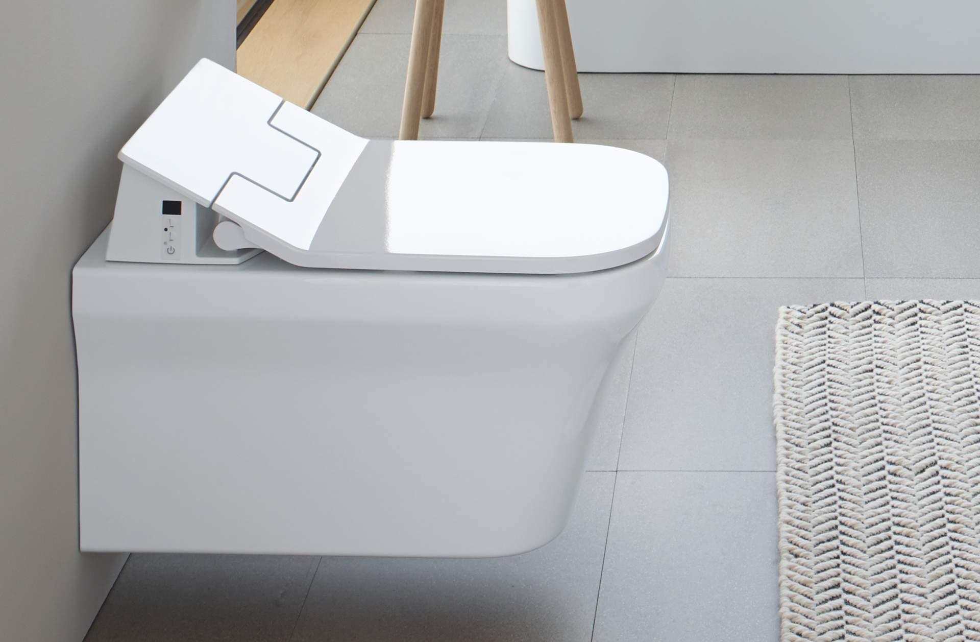 Duravit sensowash slim innovative shower toilets duravit - Duravit inodoros ...