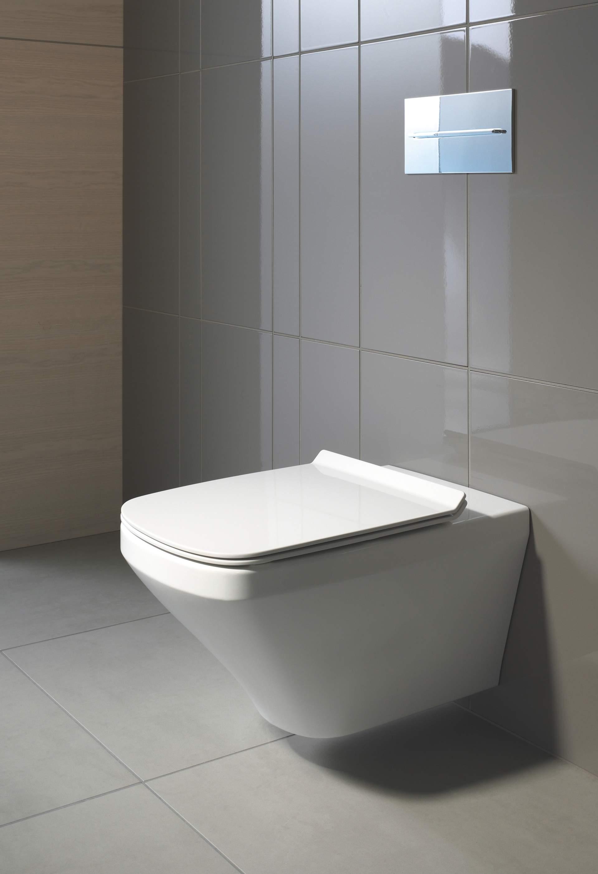 Rimless Toilet - Duravit Rimless   Duravit